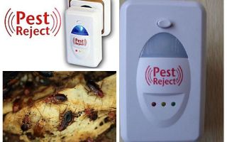 Pest verwerpt ultrasone kakkerlakschildwachter