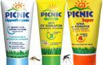 Muggen picknick