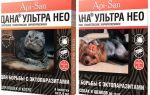 Dana Ultra Neo druppels van vlooien voor katten en honden
