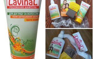Shampoo en spray lavinal tegen luizen en neten