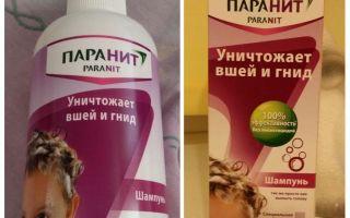 Betekent Paranit-afstotend middel tegen luizen en neten