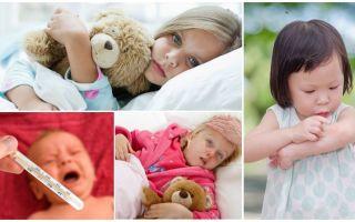De temperatuur van muggenbeten bij volwassenen en kinderen