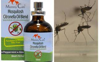 Mama Care muggenmelk olie
