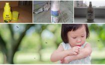 Effectieve middelen van muggen voor kinderen vanaf 1 jaar