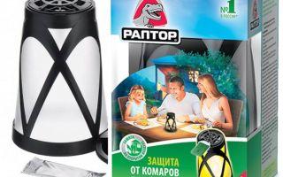 Lantaarn Raptor voor bescherming tegen muggen