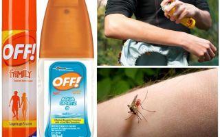 Spray Off Mosquito