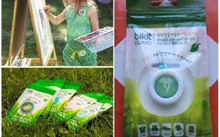 Bikit Guard-knop tegen muggen