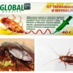 Wereldwijd van kakkerlakken