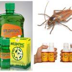Vloeibare remedies voor kakkerlakken