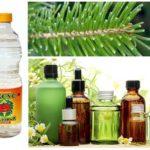 Essentiële oliën, naalden en azijn