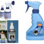 Flea sprays bij katten
