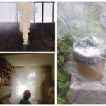 Het gebruik van rookbommen