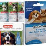 Vlooiendruppels voor honden
