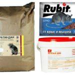 Giftige preparaten voor muizen
