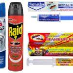 Insectengels en sprays