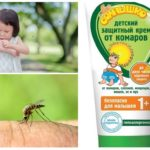 Crème tegen muggen