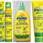 Picknick insectenwerend middel