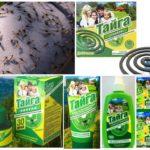 Voorbereidingen voor muggen Taiga
