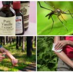 Van muggenspray op basis van vanilline