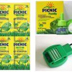 Vloeistof en picknickplaten