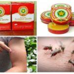 Balsemsterretje van muggen en hun beten