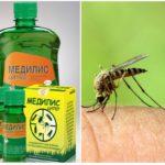 Middelen van Medilis Tsiper tegen muggen