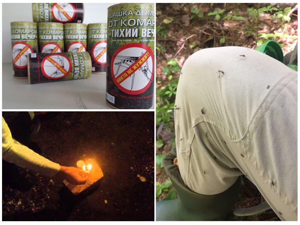 Smoke Bomb voor bescherming tegen vliegende insecten