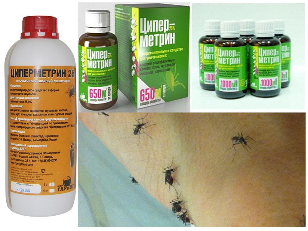Betekent Tsipermetrin tegen muggen