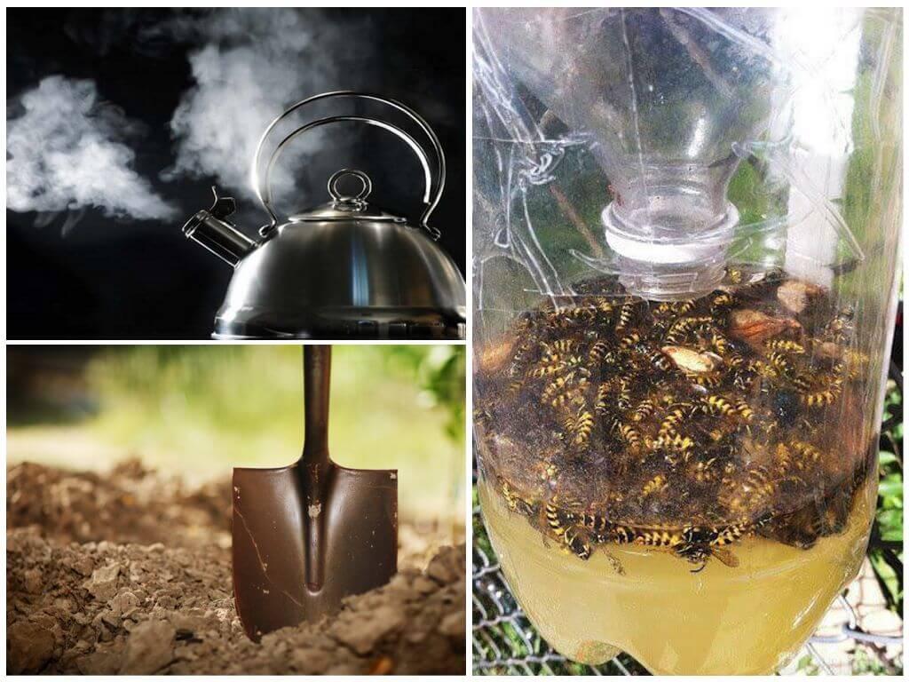 Manieren om bijen te bestrijden