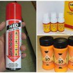 Chemische preparaten van grondbijen