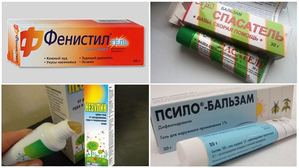 Middelen om muggenbeten te behandelen