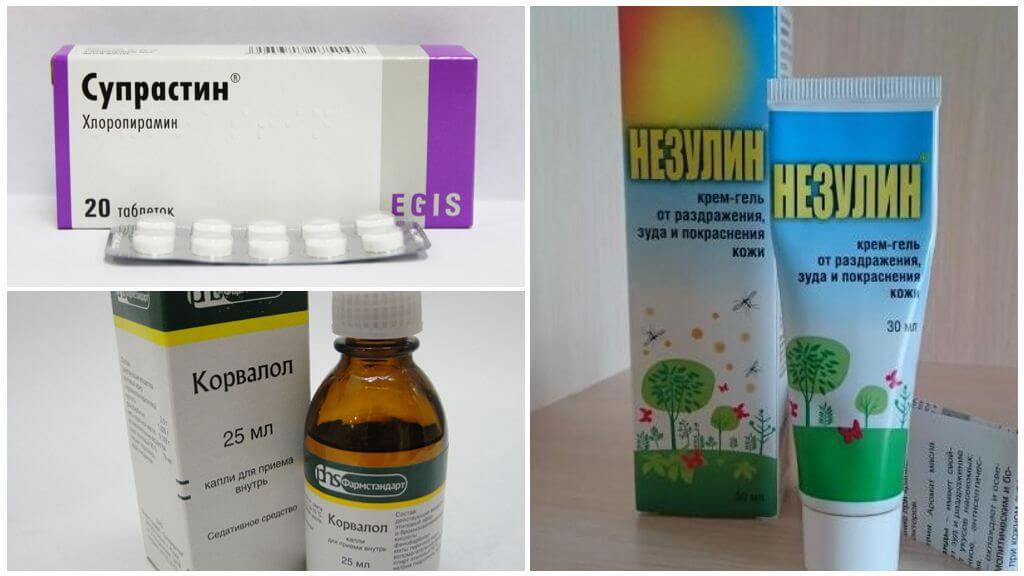 Geneesmiddelen voor insectenbeten