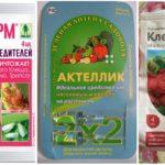 Biologische producten voor tekencontrole