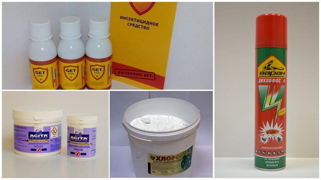Insecticiden voor ongediertebestrijding