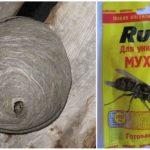 Klaar aas Snijdt tegen wespen