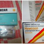 Albendazole voor wormen