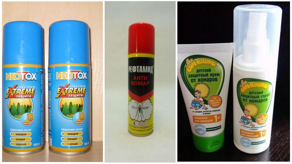 Muggenspirende middelen