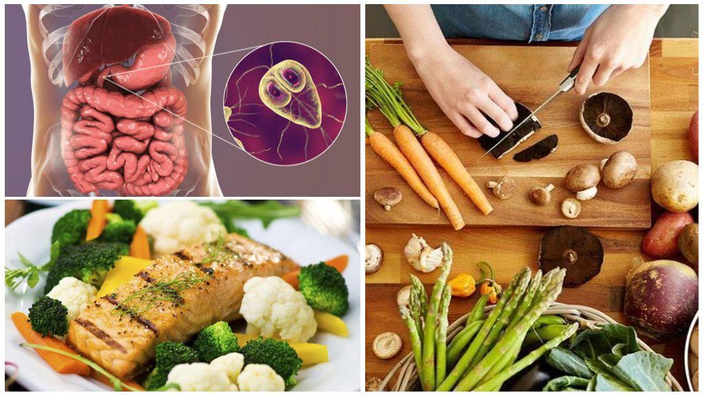 Dieet en Giardiasis