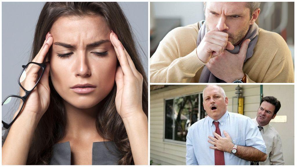 Symptomen van lamblia-lokalisatie in het ademhalingssysteem