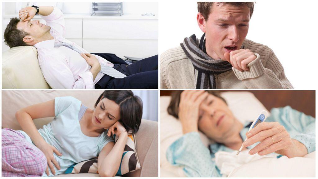 Ascaris-symptomen