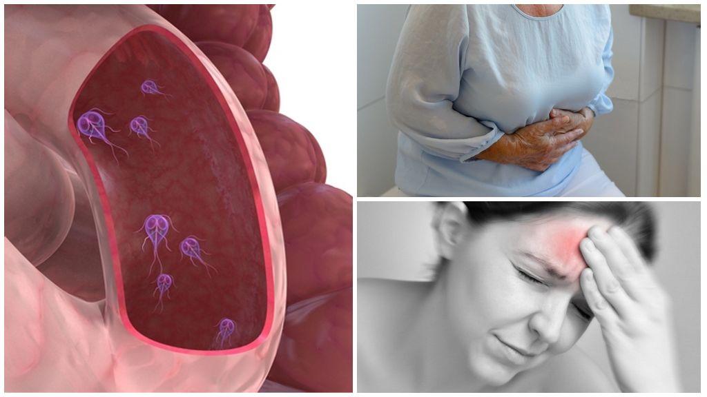 Symptomen van Giardiasis