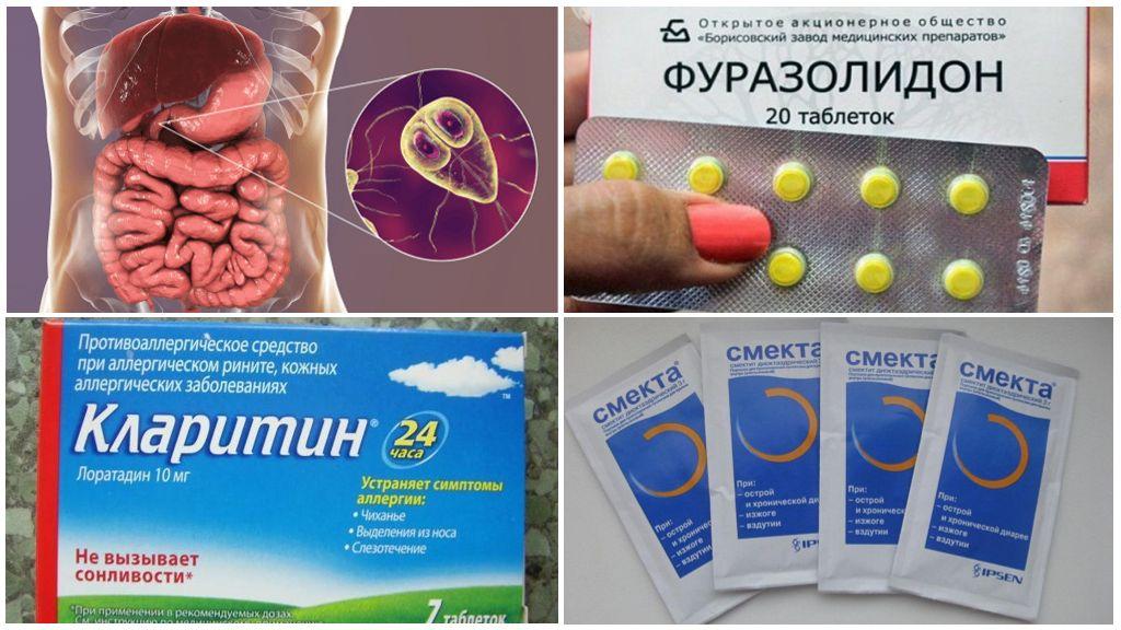 Giardiasis-therapie